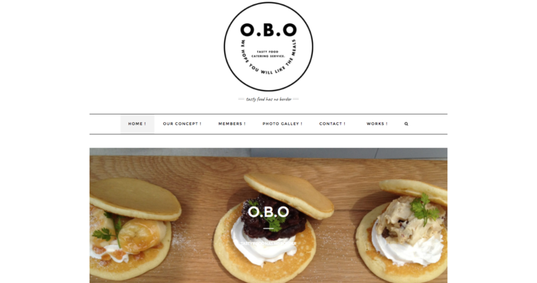 O.B.OのHPをリニューアルしました!